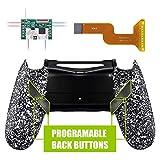 eXtremeRate Dawn Programmierbares Remap Kit für PS4 Controller mit Rückseite Hülle Gehäuse Case&Upgrade-Board&4 Rückseiten Tasten-für Playstation 4 JDM 040/050/055(Weiß)