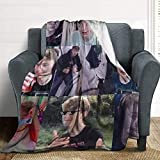 Yaxinduobao Decken Tommy-Innit Flanell-Decken Ultra-weiche Wolldecke für Couch & Bett