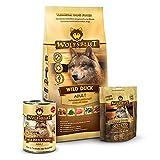 Wolfsblut - Wild Duck Trockenfutter Mixpaket 2 kg + 395g + 225g - Trockenfutter - Hundefutter - Getreidefrei - Probierpaket