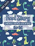 Food Diary Symptom Tracking for kid 356 Day: Dated Log Book for 365 Day Recorder|Food Allergy Tracker and Personal Symptoms Record Log|Activity ... Pattern Blue Background Cover for boy