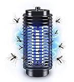 BBTWO Elektrischer Insektenvernichter, UV Insektenvernichter Mückenlampe Mückenschut Insektenlampe Schutz vor Elektrischem Schlag Mückenfalle Fliegen Moskitos Für Innen Schlafzimmer Gärten