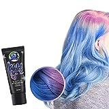 Farbwechsel Haarfärbemittel, 4 Farben Thermochrome Farbwechsel Haarfärbemittel, Diy Fashion Multicolor Dye Haarfarbe Für Halloween Make-up Geburtstagsgeschenke Party Cosplay