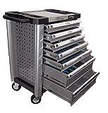 Werkstattwagen Werkzeugwagen gefüllt mit Werkzeug Aluminium Edition