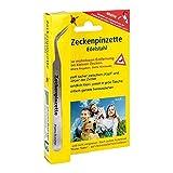Pharma Brutscher Zeckenpinzette Chirurgenstahl, 1 St. Pinzette