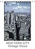 NEW YORK CITY - Vintage Views (Tischkalender 2022 DIN A5 hoch)
