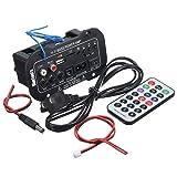 Vokmon 5-Zoll-220V Auto Bluetooth HiFi Bass-Endstufe Stereo Digital-Verstärker USB-TF und Fernbedienung