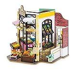 Rolife Dollhouse Miniatur DIY Kit Erwachsene Jugendliche zum Zusammenstellen Zimmer Modell Puppenhaus Handcraft Erwachsene Geschenk - Carl's Fruit Shop