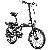 20 Zoll Leader Fox Tifton E-Bike Elektro Faltrad Klapprad LG 576 Wh BAFANG Schwarz Weiss