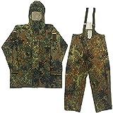 Armeeverkauf BW Anzug Regen Nässeschutz Jacke + Regenhose Größe: IV