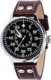 HAMAYOTA Armbanduhr Fliegeruhr Basis Augsburg, hochwertige Automatikuhr, Einzigartige Qualität, Zeitloses Design,Automatikaufzug Militäruhr Japanisches Werk