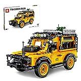 FADY Technik Sportwagen mit Rückziehmotor, Technik Bausteine SUV, Racing Auto Bauset Modell Kompatibel mit Lego Technic - 1053 Teile