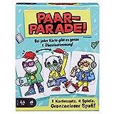 Mattel Games - GTH20 Paar-Parade Kartenspiel, Gesellschaftsspiel, Familienspiel ab 7 Jahren