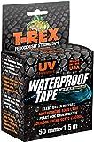 T-Rex 827-00 Waterproof Tape – Wasserdichtes, wetterfestes Reparaturband zum Befestigen und Abdichten – 50mm x 1,5