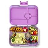 Yumbox Tapas XL Lunchbox – Bento Box für Erwachsene (Lila Purple, 5er Bon Appetit)   Unterteilte Brotdose   Auslaufsicher getrennte Fächer