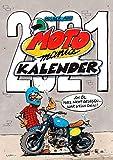 MOTOmania Kalender 2021: Monatskalender für die Wand im Großformat