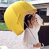 Haltbarer Regenschirm Mit Großer Kuppel, Winddichter Und Leichter Stockschirm, Regenschirm Mit Automatischer Öffnung, Winddichte Modepersönlichkeit,Adult