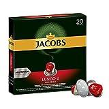 Jacobs Kaffeekapseln Lungo Classico, Intensität 6 von 12, 20 Nespresso®* kompatible Kapseln, 10 x 20 Getränke