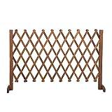Erweiterender Holzzaun, Freistehende Trellis Für Kletterpflanzen Im Freien, Gartenzaungrenze Privatsphäre Zaunbildschirm, Gitterplatten Für Draußen (Color : B94CM)