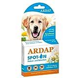 ARDAP Spot On - Zecken & Flohschutz für Hunde - Natürlicher Wirkstoff - 3 Tuben - Bis zu 12 Wochen nachhaltiger Langzeitschutz