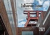 Zeche und Kokerei Zollverein Essen: Industrie-Architektur (Wandkalender 2021 DIN A4 quer)