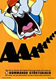 Kommando Störtebeker: Aaaaaaa (2001) | original Filmplakat, Poster [Din A1, 59 x 84 cm]
