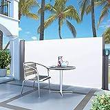 Mothinessto Markise Multifunktional Winddicht für den Innen- und Außenbereich zu Hause(Beige, White)