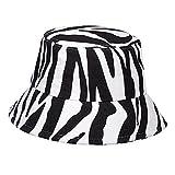 CHENGGI Fischerhut Mode doppelseitige Fischerhut Damen Outdoor-Schatten-Eimer-Hüte Wildflut-Hut-Baumwoll-Eimer-Hüte für Männer Casquette