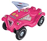 BIG-Bobby-Car-Classic Candy - Kinderfahrzeug mit Aufklebern in Candy Design, für Jungen und Mädchen, belastbar bis zu 50 kg, Rutschfahrzeug für Kinder ab 1 Jahr