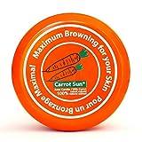Carrot Sun® Bräunungsbeschleuniger Carrot Cream | Bräunungscreme mit 100% natürlichem Karottenölextrakt | Maximal schnelle Bräunung | 350ml