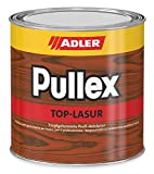 ADLER Pullex Top-Lasur - 2,5 L Lärche - Tropfgehemmte Holzlasur in Profi-Qualität für Holz außen - Lasur in verschiedenen Holzfarbtönen