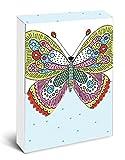 Pocket Notes: Butterfly Garden – Notizblock im praktischen Taschenformat: Schmetterlingsgarten (Notizblock im Taschenformat)