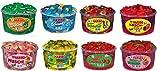 8 Dosen (10,05 Kg) Haribo Mixpaket Frösche, Schlümpfe, Schnuller, Kirsch-Cola, Pfirsiche, Ananas, Happy Cherries und Riesen Erdbeeren
