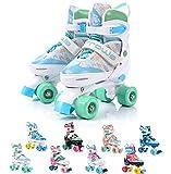 meteor® Retro Rollschuhe: Disco Roller Skate wie in den 80er Jahren, Jugend Rollschuhe, Kinder Quad Skate, Farbvarianten - Arrows