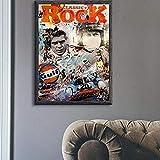 RZHSS 24 Stunden Von Le Mans Michael Delaney Auf Leinwand Druck Nordic Poster Wandkunst Bild Für Wohnzimmer Home Decoration 50X70Cm 20X28 Zoll No Frame