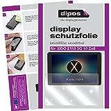 dipos I 2X Schutzfolie klar kompatibel mit XIDO Z110 3G 10 Zoll Folie Displayschutzfolie