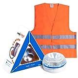 HELP FLASH SMART - Notlicht, Signal v16 Gefahrenvorkennzeichnung + Taschenlampe, zugelassen, DGT, Magnetfuß, automatische Aktivierung, Geschenk, reflektierend, zug