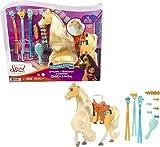 DreamWorks Spirit GXF71 - 'Spirit – frei und ungezähmt' Miradero Festival Frisierpferd Chica Linda (20cm) mit langer Mähne, langem Schweif und Zubehörteilen, Geschenk für Kinder ab 3 Jahren