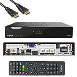 Edision PICCOLLO S2+T2/C Combo Receiver H.265/HEVC (DVB-S2, DVB-T2, DVB-C,) CI Full HD USB Schwarz inkl. HDMI Kab
