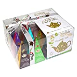 English Tea Shop - Teegeschenk mit Schleife 'Klassische Tee Kollektion', BIO, 12 Pyramiden-Beutel (DE-Version)