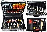 FAMEX 418-89 Alu Werkzeugkoffer gefüllt mit Werkzeug Bestückung in TOP-Qualität