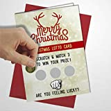 Grußkarte zum Rubbeln, mit Umschlag, unhöflich, lustig, witzig, freche, hochwertige Karte, innen unbeschriftet