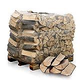 HEIZFUXX Brennholz Kaminholz Feuerholz Grillholz Ofenholz Smokerholz Scheitholz Buchen Holz Trocken Ofenfertig Buche 33cm 1RM = 1,4SRM / 1 Palette Paligo