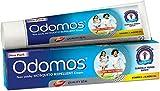 Odomos Non-Sticky Mosquito Repellent Cream (With Vitamin E & Almond) - 100g   Odomos Naturals Antihaft-Mückenschutzcreme - Vitamin E+ Mandelöl- 100g