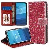 Galaxy S10 Pink Love Wallet Case (6,1 Zoll) mit Kartenhalter