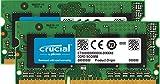 Crucial CT2K8G3S186DM 16GB (8GBx2) Speicher Kit für Mac (DDR3/DDR3L, 1866 MT/s, PC3-14900, SODIMM, 204-Pin)