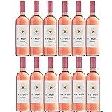 Rasgon Tempranillo Rosado Roséwein Wein halbtrocken Spanien (12 Flaschen)