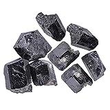 Black Turmalin Crystal Rocks Mineralsteine ??100g zum Polieren von Drahtverpackungsindustrie Reiki Heilwerkzeug
