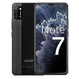 Cubot Note 7 Handy, Smartphone ohne Vertrg, 4G Android 10 Go, 5.5 Inch HD Display, 13MP Dreifach Kamera, 3100mAh Akku, 2GB/16GB, 128GB erweiterbar, Daul SIM (Schwarz)