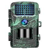 TOGUARD Wildkamera 20MP 4K Lite Jagdkamera mit 120°Wildtier Überwachung Bewegungsmelder Nachtsicht mit Infrarot Leichtes Glühen 2.0' LCD IP56 Wasserdicht - ak