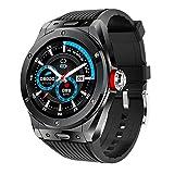 WEINANA Smart Watch Bluetooth-Anruf Lokale Musik Smart Bracelet Pedometer Herzfrequenz-Schlafüberwachung wasserdichte SmartWatch(Color:B.)